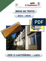 Libros de Texto 2014-15 Ceip o Castiñeiro - Laza (2)