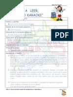 plan de unidad karaoke 2014