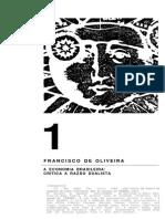 Francisco de Oliveira - Crítica à Razão Dualista
