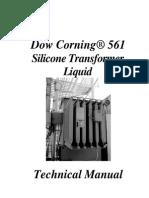 Transformador - Manual Técnico de Manutenção Em Transformadores Com Fluido de Silicone - Dow Corning