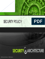 Security Policy Presentation