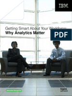 Getting Smart About Your Workforce - Why Analytics Matter IBM