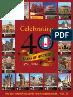 2014 Italian Directory - BC Edition