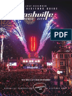 Nashville Visitors Guide July - Dec 2014