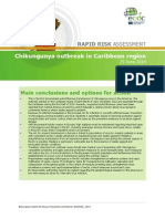 Chikungunya Caribbean June 2014 Risk Assessment