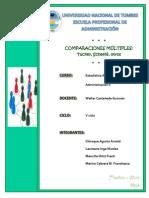 Grupo 7- Comparaciones Multiples - Tuckey y Sheffe