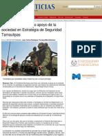07-03-2014 Apoyo de la sociedad en Estrategia de Seguridad Tamaulipas
