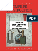 229696121 Introduction to Compiler Construction Parsons 0716782618