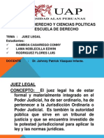 Reforma Del Estado - Juez Legal