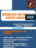 1. Derecho de Familia Gral. Utal c.f.a. 2013