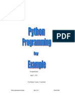 Python by Example - 9 June 2014