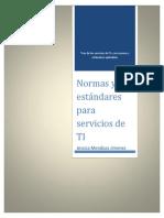 Normas y Estandares de Servicios de TI