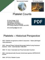 03 Platelet Counts