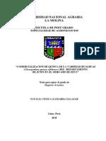 Tesis_quinua Comercializacion a EEUU Variedad