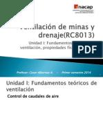 14.0.- Ventilacion de Minas y Drenaje