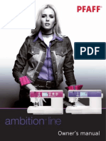 Pfaff Sewing Machine Manual