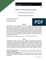 2012 Analisis de Las Visiones Del Turismo en Mexico