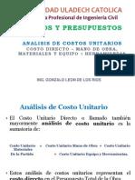 3-Analisis de Costos Unitarios