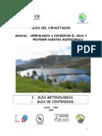 Conserv Aguas y Microcuencas Desastres