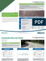 Especificaciones Geomallas Fibra Vidrio