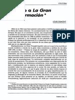 Dumont - Prefacio a La Gran Transformacion de Polanyi