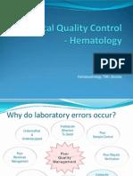 Statistics in Hematology