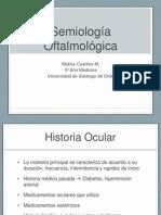 Semiologia Oftalmo