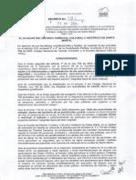 Decreto 101 del 01/07/14