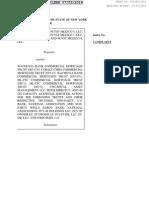 STUYVESANT TOWN LITIGATION AGAINST CWCapital by junior lenders PCVST Mezzco 4 LLC v. Wachovia Bank Commercial Mortgage Trust 2007-C30, 652045/2014, New York State Supreme Court, New York County (Manhattan)