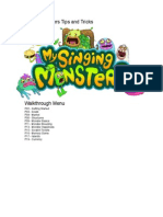 My Singing Monsters Playing Guide