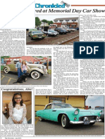 Veterans Honored at Cromwell Memorial Day Car Show