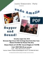 Crescendo Amelia Concert Flyer
