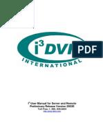 Dvr i3dvr Manual