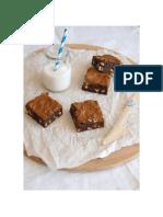 Brownies Com Amendoim e Snickers