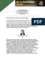 03-07-14 PA Prohibición de Publicación de Listas de Cuotas de Recuperación