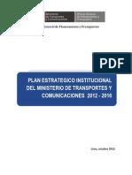 PLAN 144 PEI (Plan Estratégico Institucional) 2012- 2016 2013 (1)