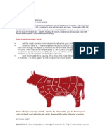 Guide to Cuts of Beef