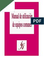Manual Equipos Comunes Del IFI