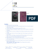 HP 901 Ink Refill Instructions