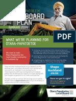 Otara Papatoetoe Local Board Summary