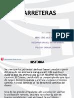 CARRETERAS- DIAPOSITIVA