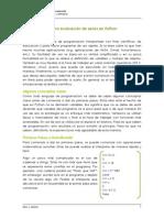 Manual Rapido Para Evaluacion de Series en Python