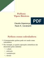 _02 - Programando Em Python - Tipos Basicos