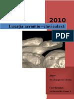 08.Luxaţia Acromio–Claviculară - Dr.gheorghevici T Ştefan