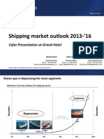Pareto - Shipping Market Outlook