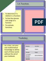 1.4 Functions II