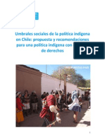 Estudio Umbrales Politica Indigena
