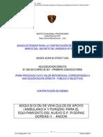 Procedimieno de Adquisicion de Una Ambulancia