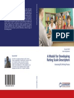 A Model for Developing Rating Scale Descriptors- Assessing EFL Writing Process