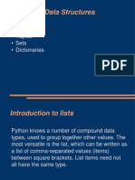 Advanced Data Structures - python